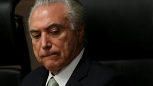 Shugaban kasar Brazil Michel Temer
