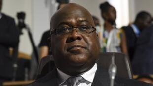 Rais wa DRC  Félix Tshisékédi.