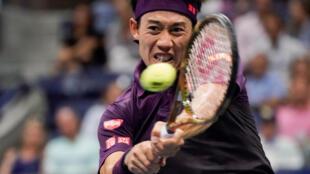 Kei Nishikori reached the semifinals in Metz.