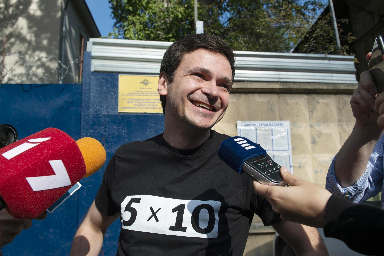 Илья Яшин. Фото 07.09.2019