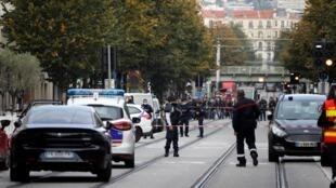 Nice foi palco de um ataque terrorista
