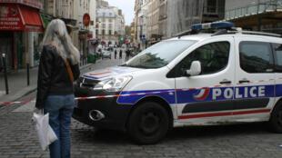 Машина французской полиции (архивное фото)