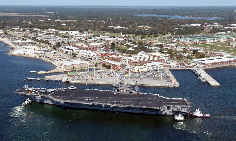 Căn cứ Pensacola, Florida, Hoa Kỳ, nơi một quân nhân Ả Rập Xê Út xả súng, ngày 06/12/2019, làm 3 người thiệt mạng.