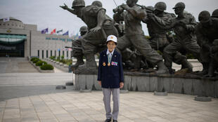 Park Ok-sun volunteered as a military nurse in the Korean War aged only 16, and says it still 'breaks her heart' to think about the soldiers she treated
