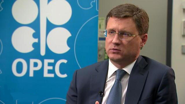 Alexander Novak وزیر انرژی روسیه