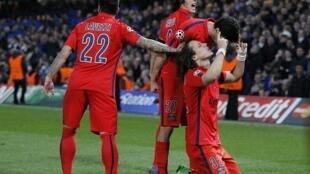 Les Parisiens Lavezzi, Cavani et David Luiz affronteront le Real Madrid en Ligue des champions.