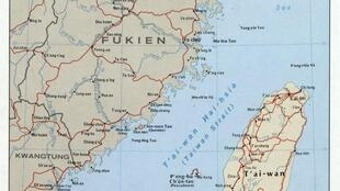台灣海峽圖