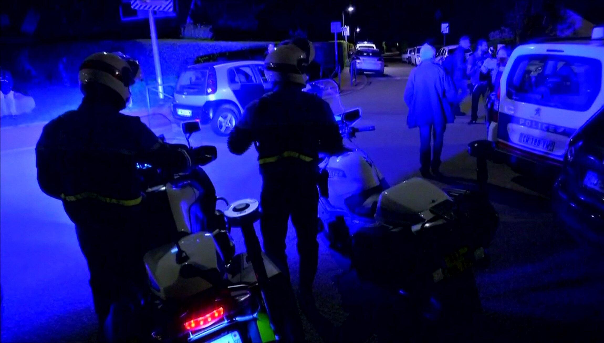 Casa do policial morto pelo jihadista francês nesta segunda-feira