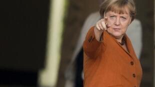 Канцлер Германии Ангела Меркель побывала с блиц-визитом в Афганистане 10 мая 2013.