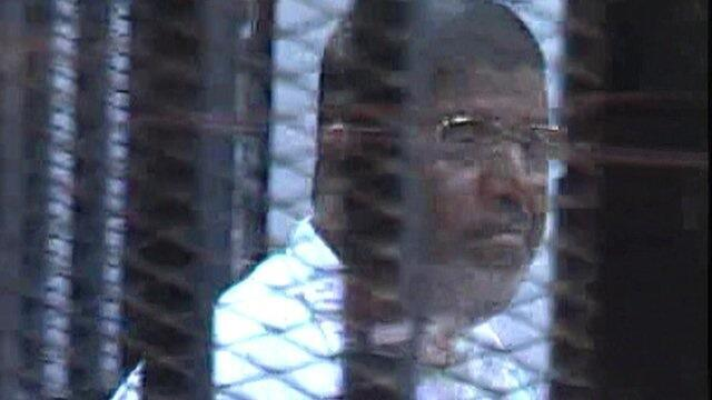 Rais wa Misri Mohamed Morsi