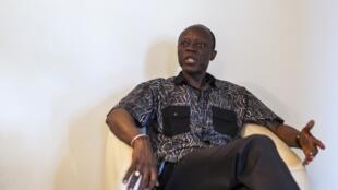 L'opposant Jean-Marie Michel Mokoko, le 19 mars 2016.