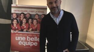 Mohamed Hamadi, réalisateur du film «Une Belle Équipe». C'est le quatrième film de Mohamed Hamadi, qui a connu un succès retentissant avec «La Vache», road movie avec Jamel Debbouze, il y a 4 ans.