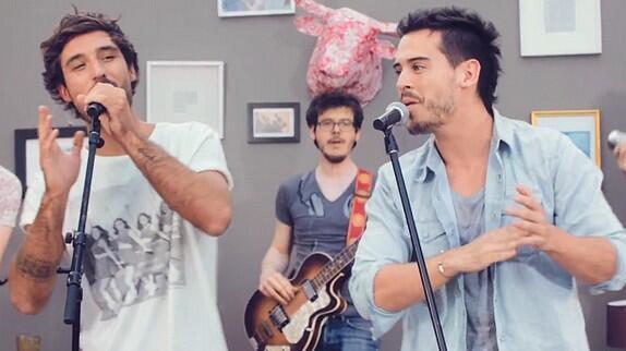Дуэт Фреро-Делавега в клипе «Sweet Darling»