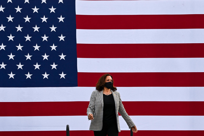 Kamala Harris é a primeira vice-presidente mulher dos EUA