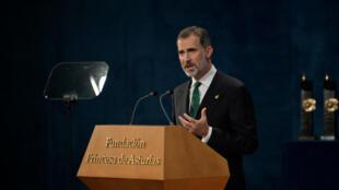 """Felipe VI: Catalunha, uma """"inaceitável tentativa de secessão""""."""