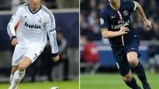 Cristiano Ronaldo e Zlatan Ibrahimovic