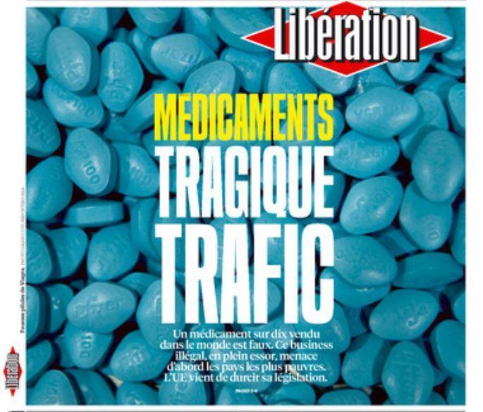 Первая полоса газеты Liberation, выпуск 4 марта 2019 года.