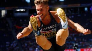 На чемпионате Европы Кевин Майер выступил неудачно, однако установить новый мировой рекорд месяцем позже ему это не помешало