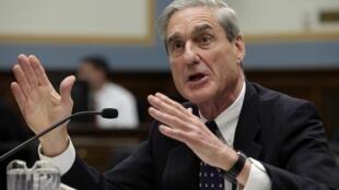 Le directeur du FBI Robert Mueller, lors de son audition devant la Chambre des représentants, le 13 juin 2013