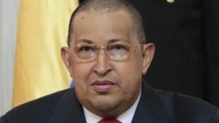 Rais wa Venezuela Hugo Chavez