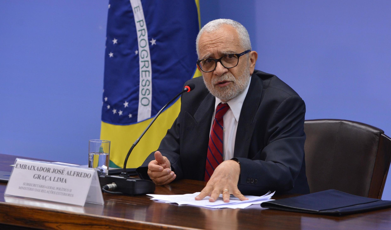 O embaixador José Alfredo Graça Lima