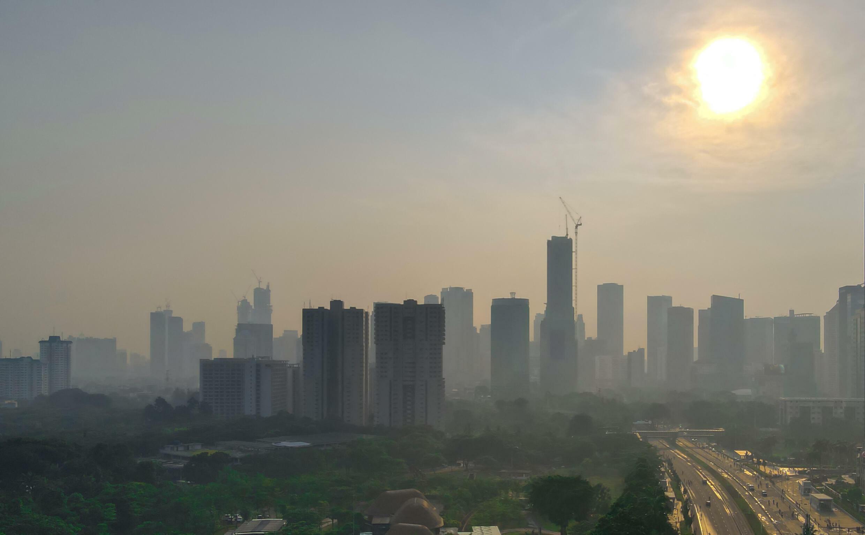 Jakarta - indonésie - pollution