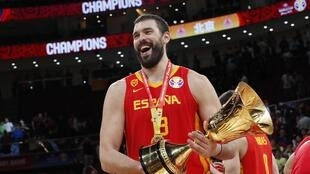 Marc Gasol became only the second man to win the world cup and the NBA title in the same year.