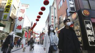 日本东京街头