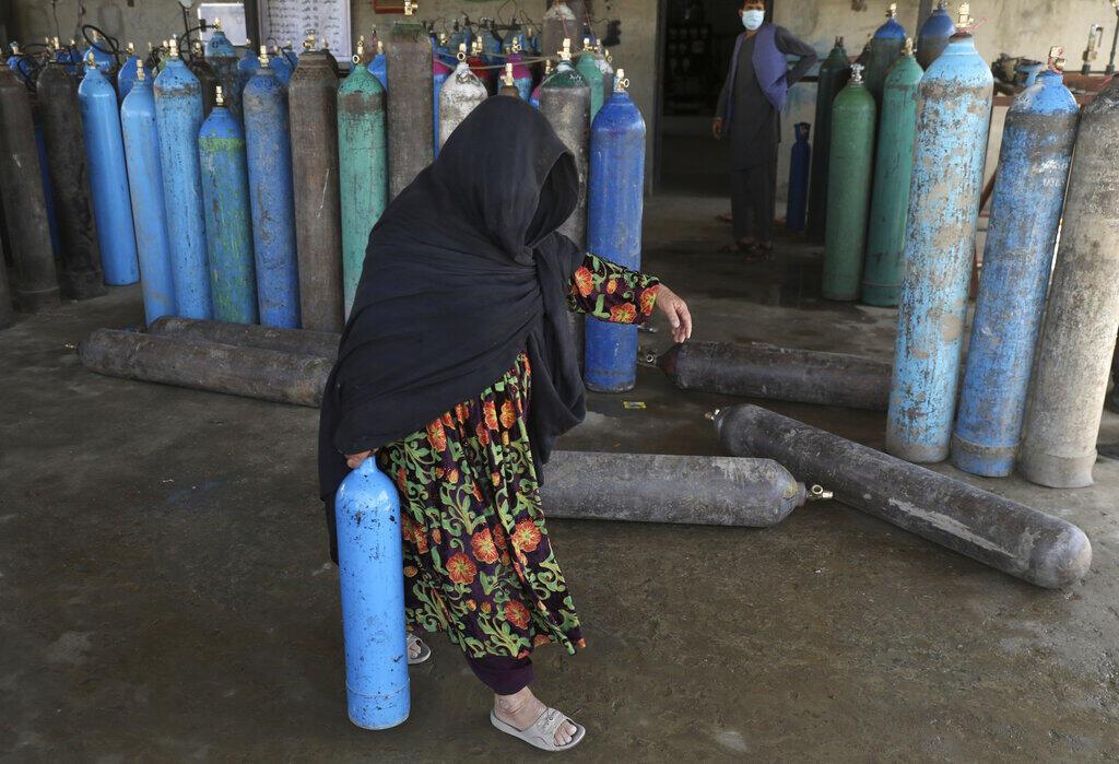 کمبود اکسیژن در افغانستان به یک مشکل بزرگ تبدیل شده است
