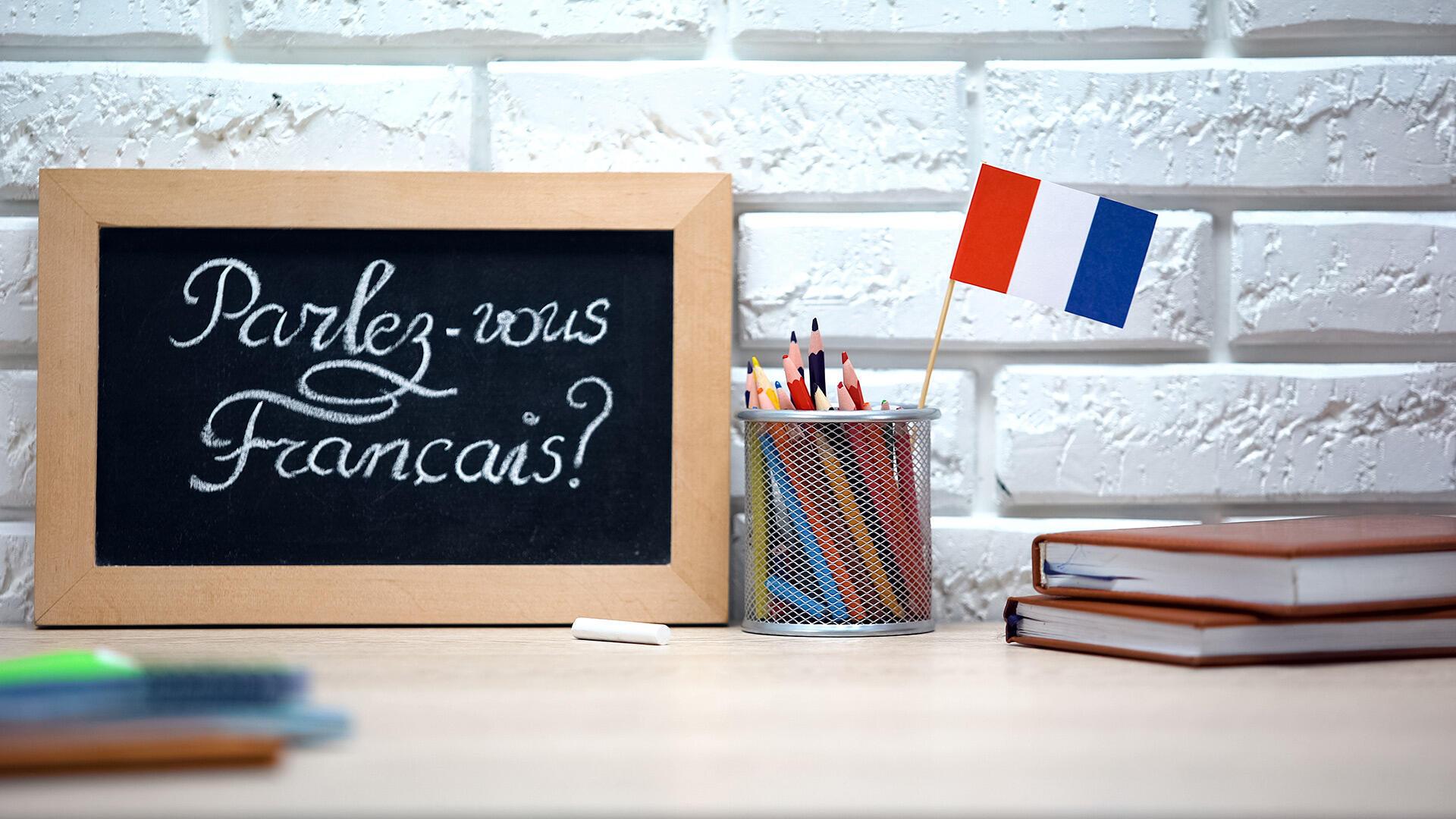 Apprendre le francais langue étrangère (FLE)