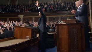 Tổng thống Mỹ Barack Obama, lngày 20/01/2015 tại Quốc hội Hoa Kỳ.