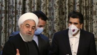 حسن روحانی رئیس جمهوری اسلامی ایران