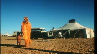 Sahrawi refugee camp near Tindouf in Algeria