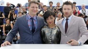 美国参赛片《爱恋》导演和两位主人公参加首映式