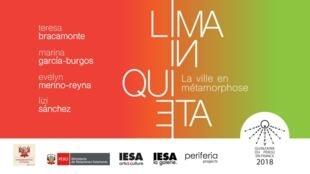 """""""Lima In-quieta"""" se presenta en la sede del IESA, en París."""