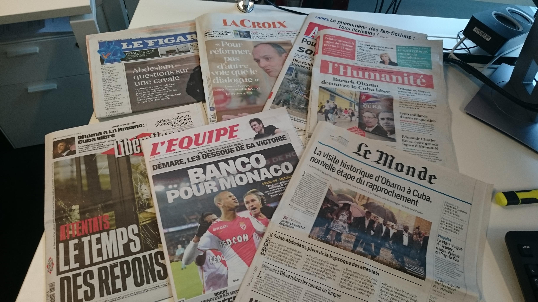 Diários franceses 21.03.2016