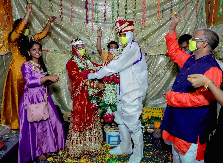 2020-06-21 india covid-19 coronavirus wedding health hygiene measures