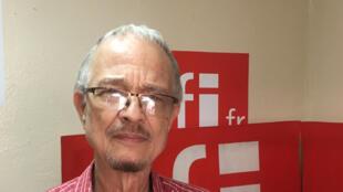 Le cinéaste haïtien Arnold Antonin.