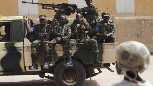 L'armée malienne a mené une opération antiterroriste à Dialloubé dans la région de Mopti au Mali.