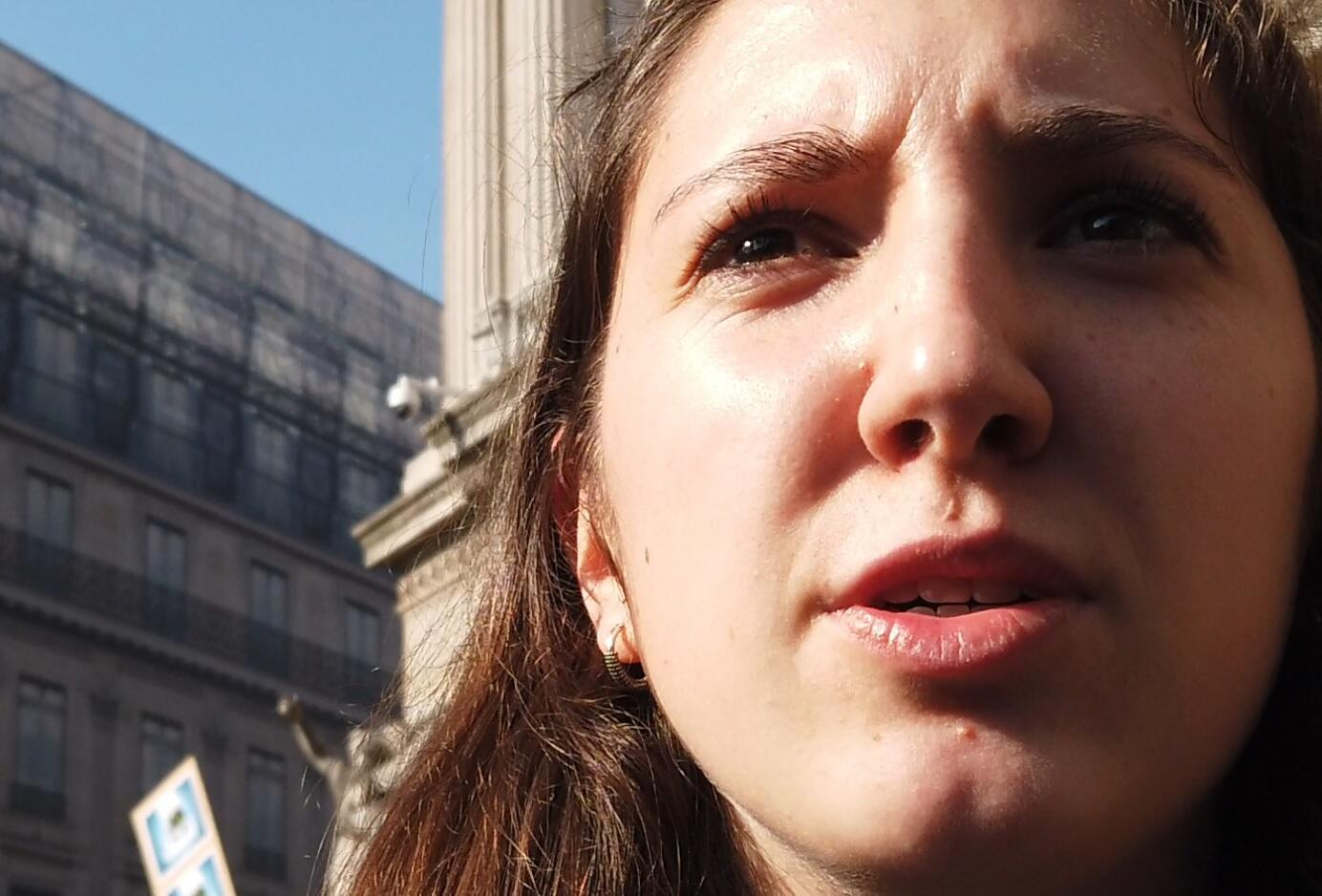 Annaelle, French student and climate activist