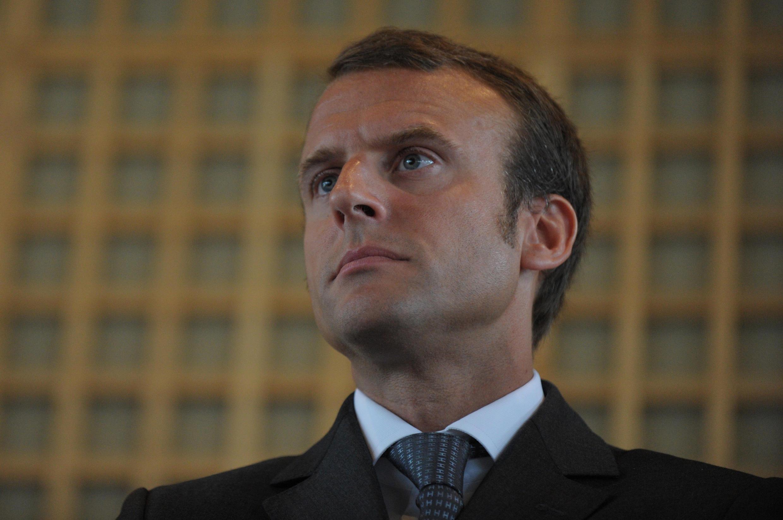 France's new Economy Minister Emmanuel Macron