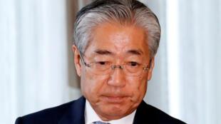 日本奥委会主席竹田恒和2019年3月19日东京
