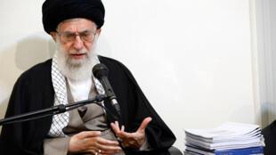 آیتالله خامنهای، رهبر حکومت اسلامی ایران