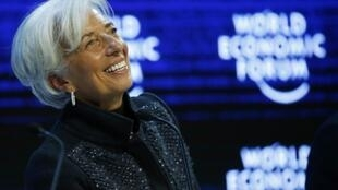 IMF boss Christine Lagarde, seen in this file picture, is the only candidate in a contest for the next five years in the role