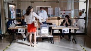 Segunda volta das eleições autárquicas em Paris, 28 de Junho.