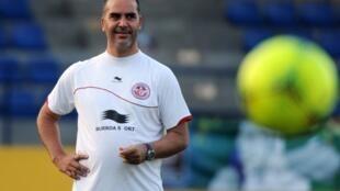 Sami Trabelsi lors de la CAN 2012.