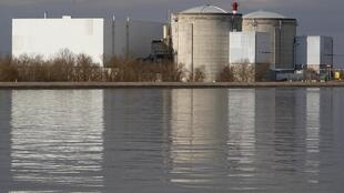 Usina Nuclear francesa de Fessenheim.