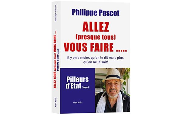 Le dernier livre de Philippe Pascot.