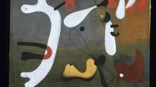 Joan Miro Peinture, 8 mars 1933.