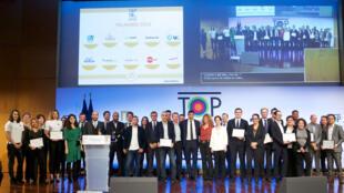 Cérémonie des TOP 10 des recruteurs de la diversité 2018.